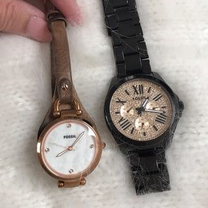 Set of 2 Fossil Watches!!!